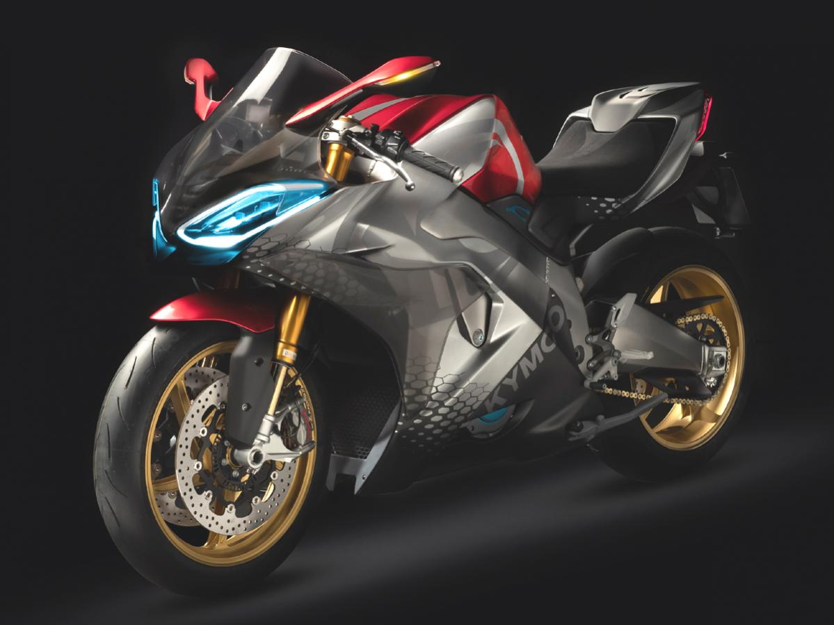 2.9秒で100km/h到達! キムコ6速ギヤ付電動バイク発表【Super NEX(スーパーネックス)】
