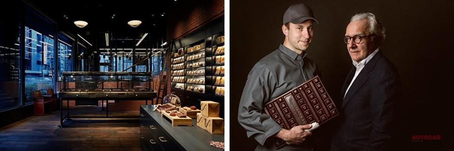 世界に1台 ルノー・カングー、ショコラ工房「ル・ショコラ・アラン・デュカス」仕様