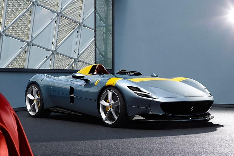 フェラーリ、限定スペシャルモデル「Monza SP1&SP2」を発表