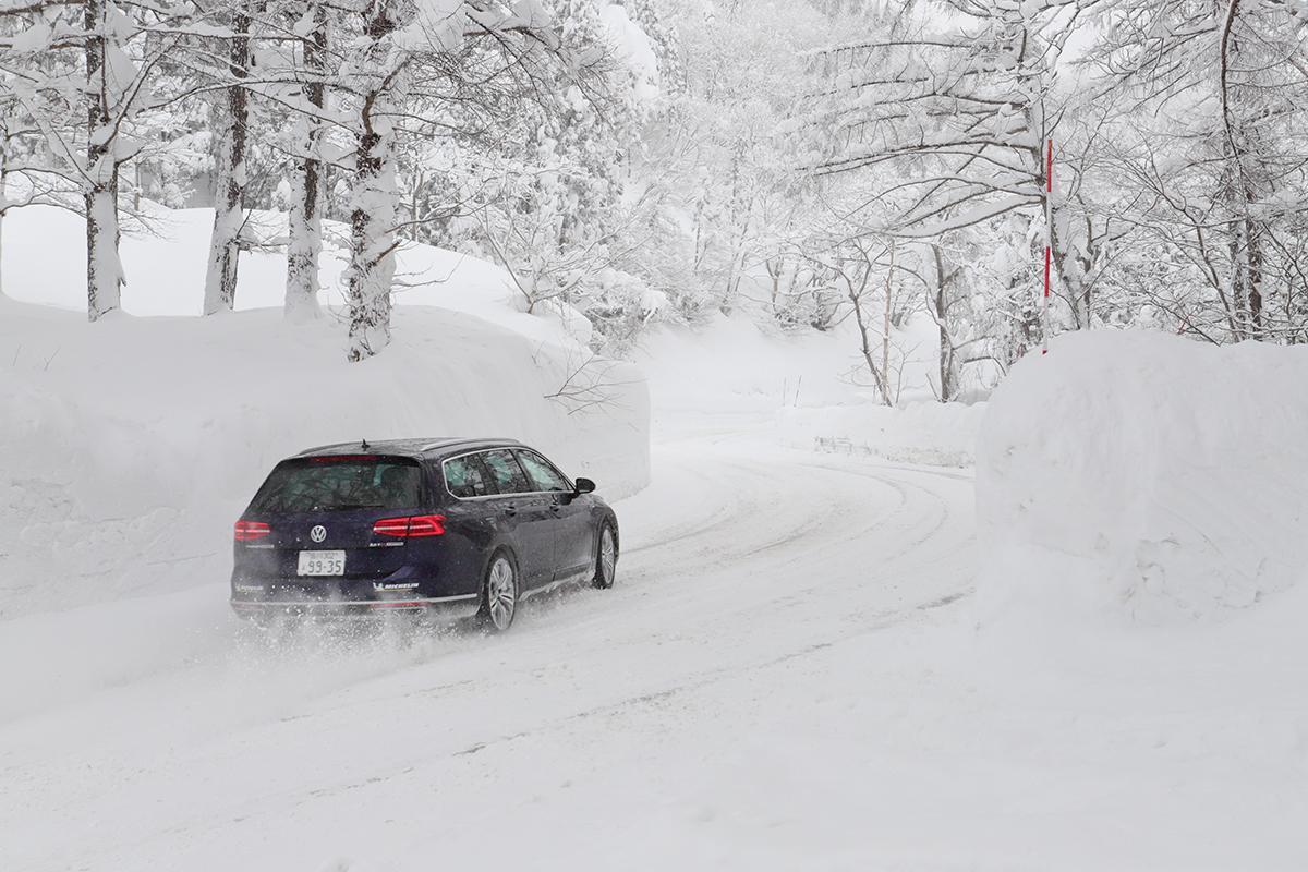 【試乗】雪道で本領発揮! VWの4モーション技術をティグアン&パサートオールトラックで体感