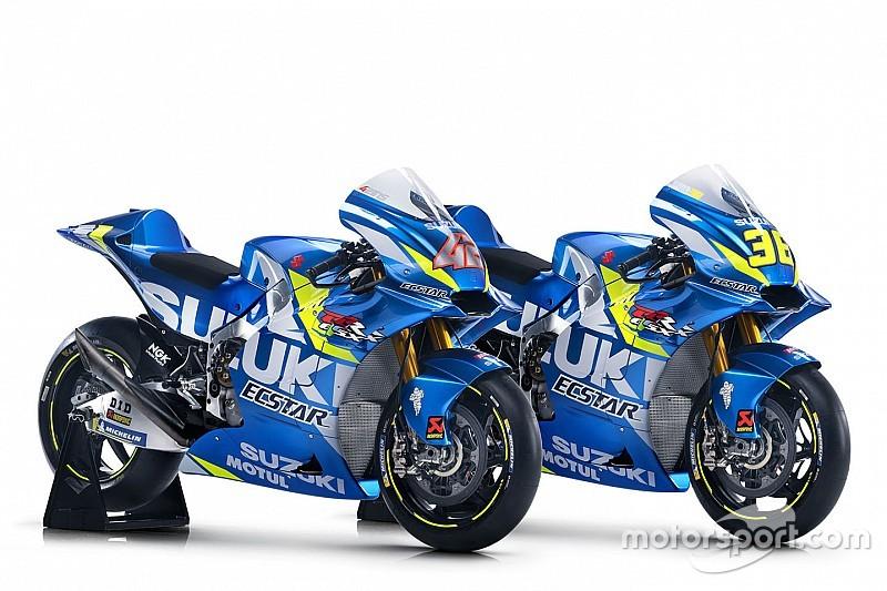 スズキ、2019年MotoGPバイクのカラーリングをネット上で発表