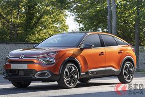今度の新型シトロエン「C4」はSUVスタイルに! 初めて電気自動車も設定