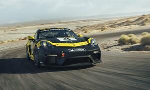 これで参加すれば注目度抜群だ! ポルシェの本格的レーシングカー、718ケイマンGT4クラブスポーツは走行会仕様も選べる!