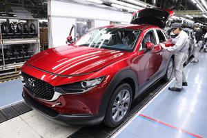 マツダ 日本、メキシコ、タイの製造工場で生産調整を実施