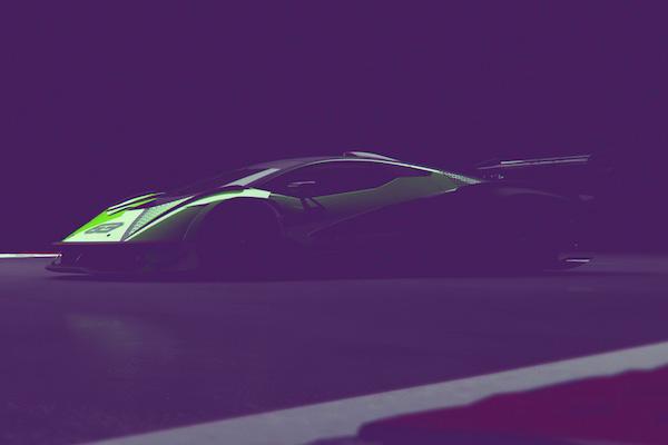 ランボルギーニのハイパーカー V12エンジンが吠えた【動画】