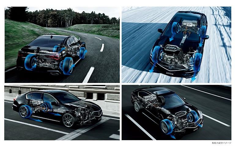 ホンダ、レジェンドがマイナーチェンジ デザインと走りをブラッシュアップ