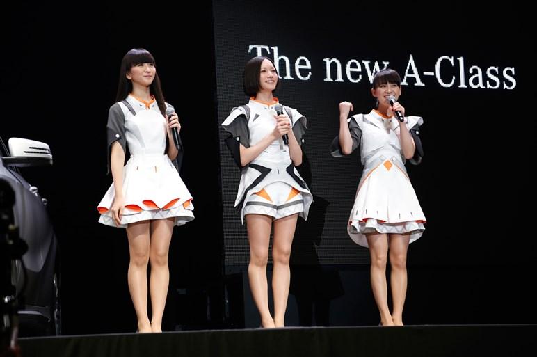Aクラスがマイナーチェンジ。新CMはPerfume&貞本義行とコラボ