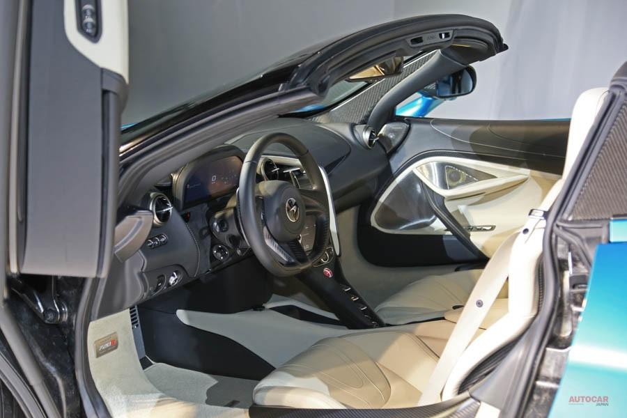 実車 マクラーレン720Sスパイダー 透明度の変わるエレクトロクロミック・ガラスとは?
