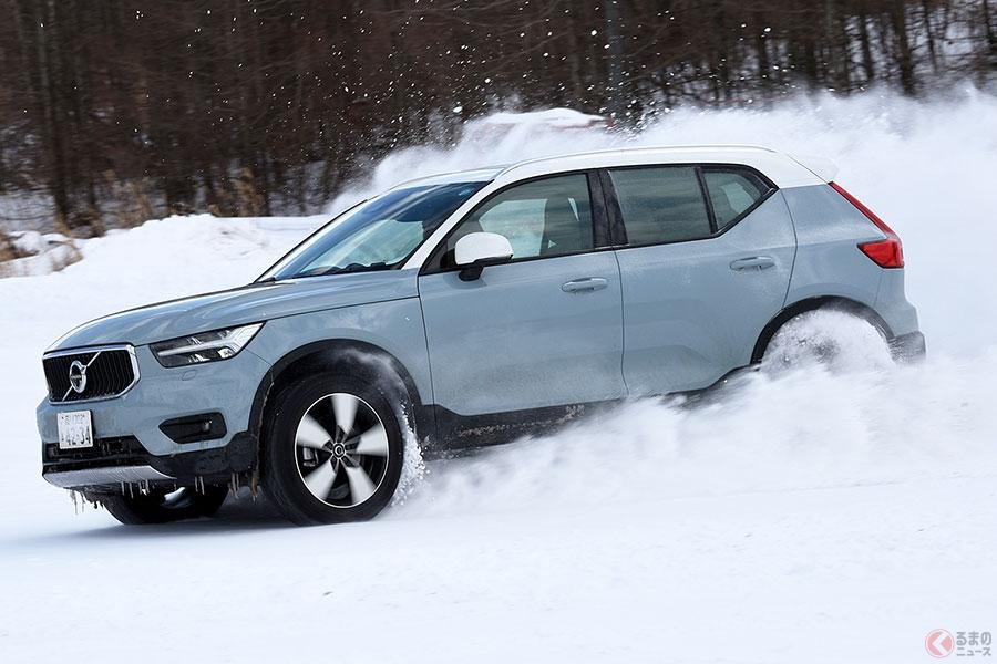 雪と戯れられる頼もしい相棒! ボルボ「XC40」はデザイン以上に中身で勝負できるSUV