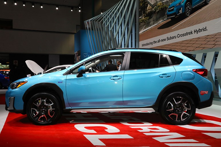 スバル クロストレック ハイブリッドのモーターや電池はトヨタが供給。北米専売か