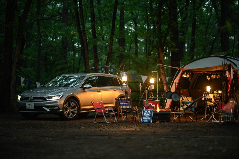 キャンプに行きたくなるクルマ──フォルクスワーゲン パサート オールトラック試乗記