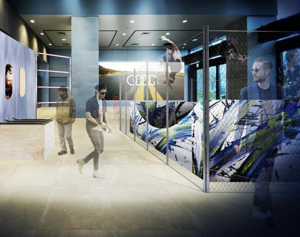 新型「アウディA1スポーツバック」の日本導入を記念して東京・渋谷でイベントを開催!