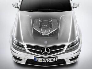 EV時代が来る前に堪能したい、メルセデス・ベンツ C63 AMGが搭載した超絶6.2L自然吸気V8!