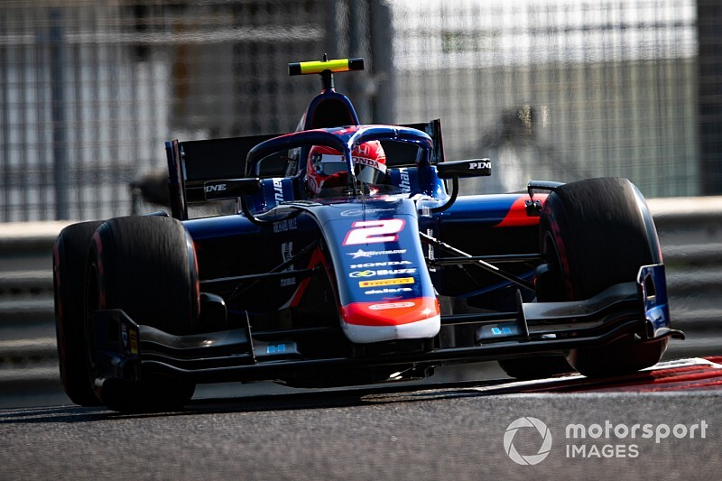 FIA F2アブダビ予選:セルジオ・セッテ・カマラがPP獲得。松下信治は4番グリッド