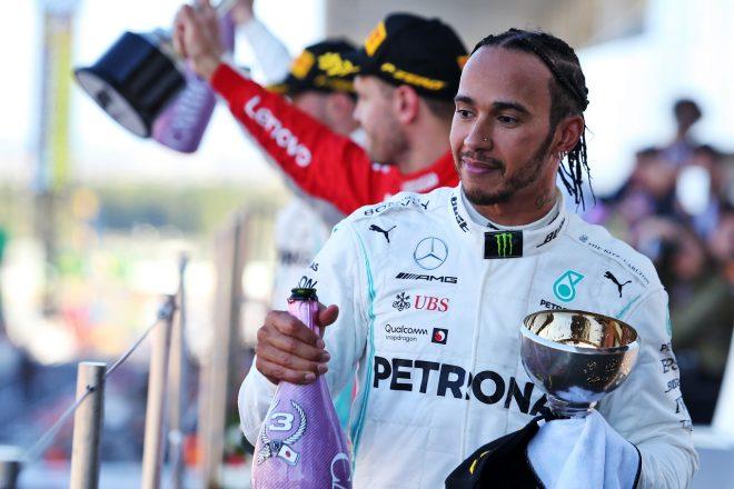 3位のハミルトン「1回ストップで勝つことが可能だった」。チームの戦略に不満示す:メルセデス F1日本GP