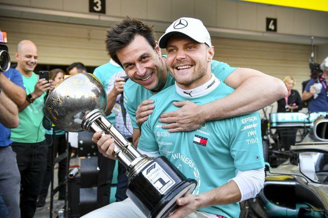 ボッタス、史上初のダブルタイトル6連覇に勝利で貢献「鈴鹿がますます好きになった」メルセデスF1日本GP