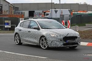 次期フォード・フォーカスST 2.3ℓエコブースト採用 2019年登場か