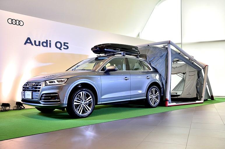 新型アウディQ5とSQ5を発表。8年ぶりのフルモデルチェンジで2世代目に