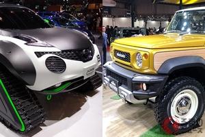 過去には「エルグランドGT-R」や「ジムニーピックアップ」が登場? 東京オートサロン2020年の注目車は?