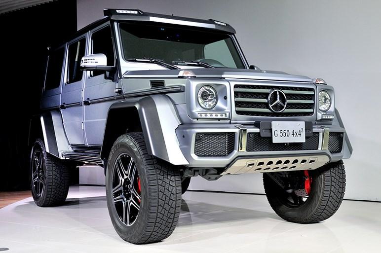 Gクラス史上最強の4輪駆動「G 550  4x4²」が登場。価格は3510万円