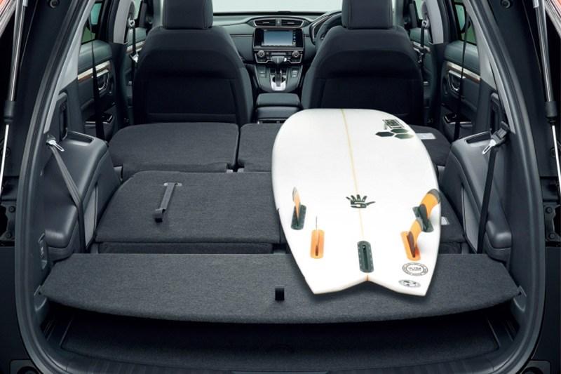 最低地上高210mmを確保したホンダの「新生CR-V」は4WDメカも大いに進化している
