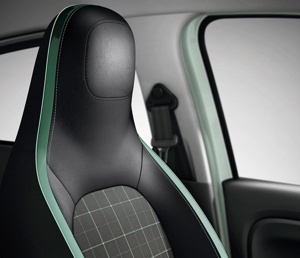 内外装を専用カラーでオシャレに仕立てたルノー・トゥインゴの限定車「ラ・パリジェンヌ」発売