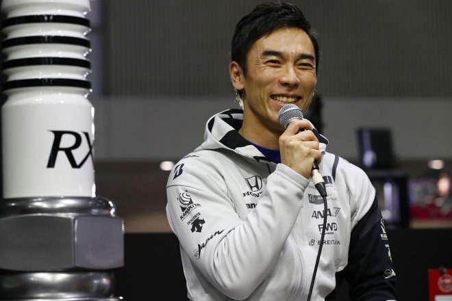 東京オートサロンに今年も佐藤琢磨が登場「今年がいちばん充実した体制で臨める。常に5位以内が目標」