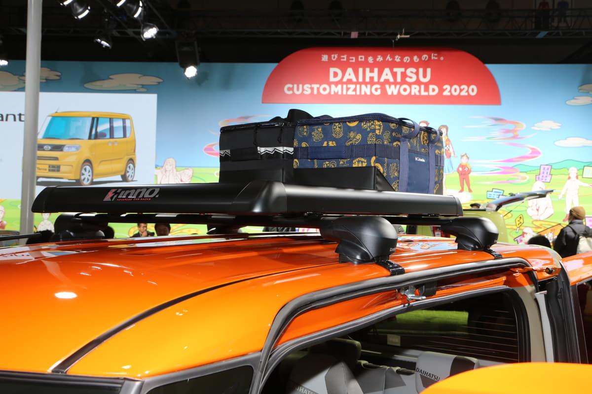ダイハツ「タント」をベースにアクティブなカスタマイズ提案【東京オートサロン2020】
