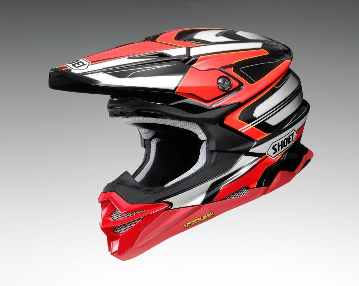 SHOEIのオフロードヘルメット「VFX-WR」に新グラフィック!/「BRAYTON」(ブレイトン)