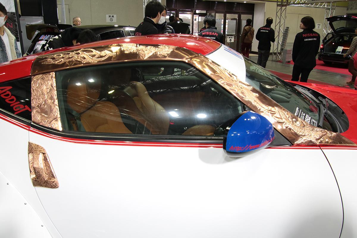完成度の高さに脱帽! 愛知&京都の日産自動車大学校の学生が手がけた力作【大阪オートメッセ2019】