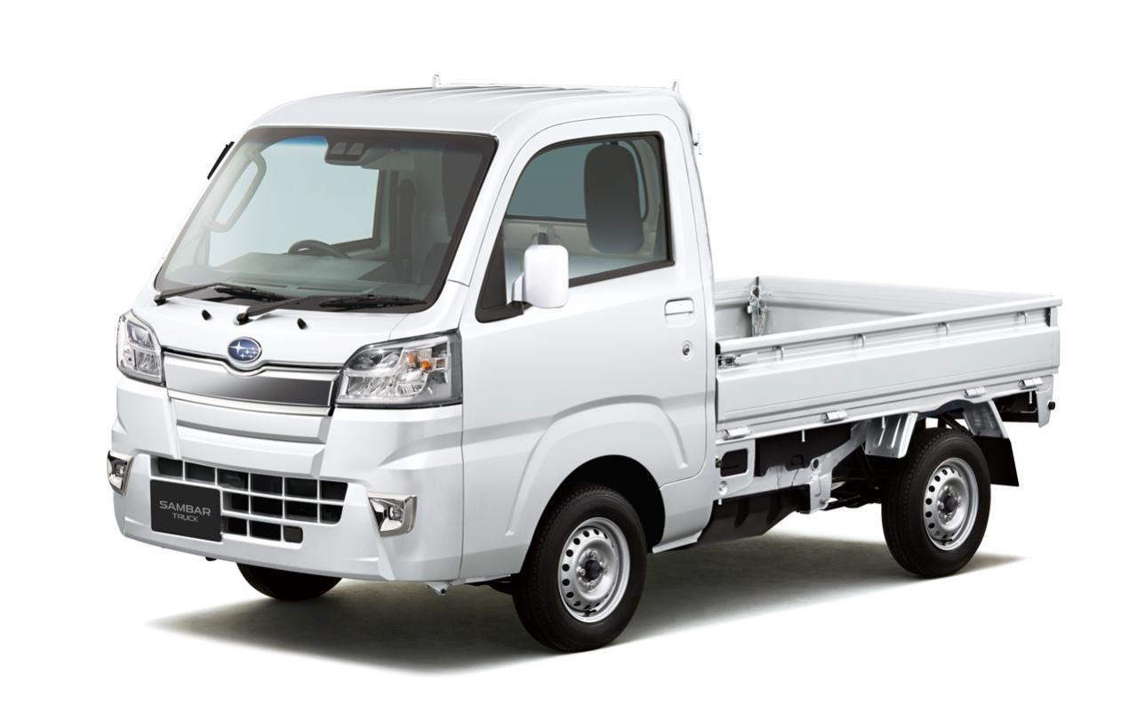 スバル・サンバートラックが一部改良! 「スマートアシストIIIt」搭載グレードにLEDヘッドランプを標準装備