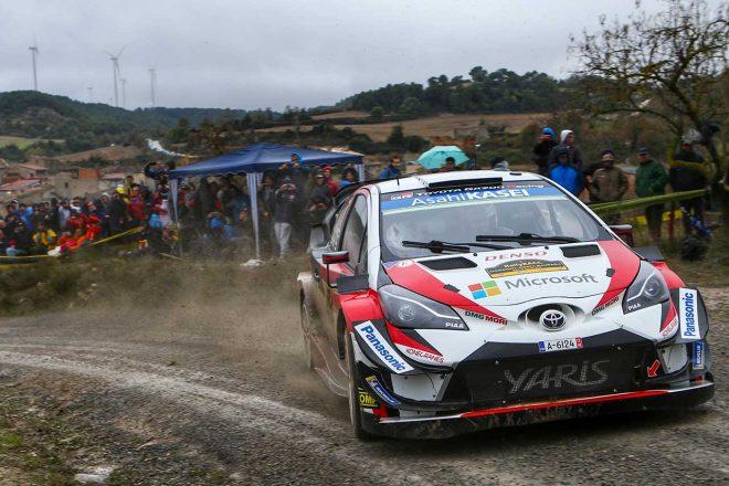 WRC:トヨタ、王座目指して第13戦スペインへ。マキネン「全タイトル獲得へ攻めの姿勢を続ける」