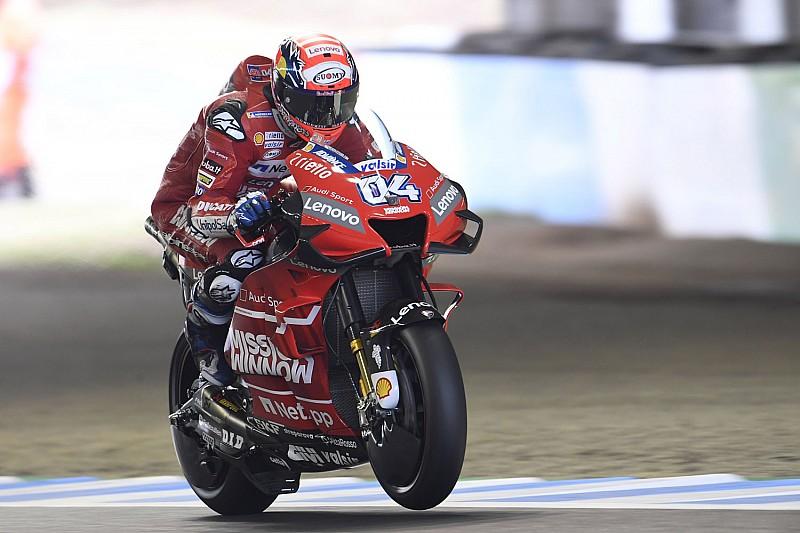 【MotoGP】寒さでタイヤが機能しない……日本GP初日4番手ドヴィツィオーゾ、気温に苦しむ1日に