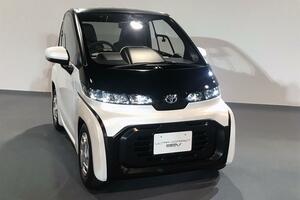 トヨタが2020年発売の「超小型EV」を展示! 一充電で100kmの走行が可能【東京モーターショー2019】