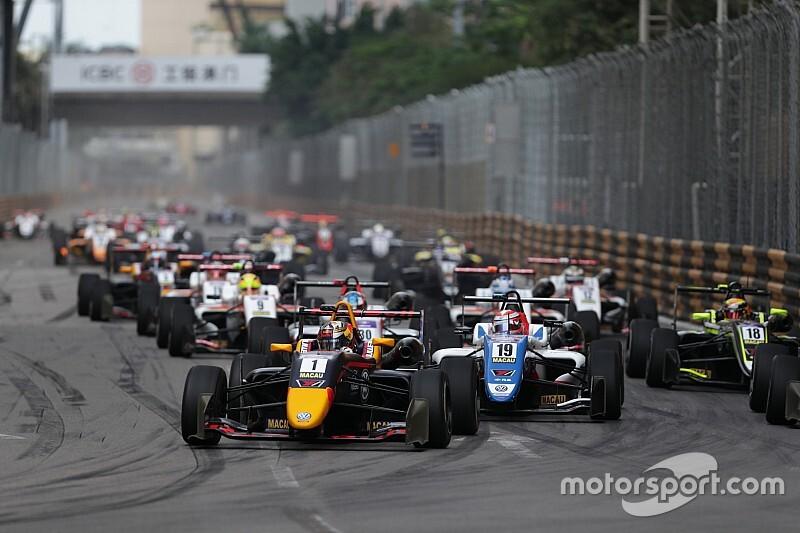 マカオグランプリのエントリーリスト発表。昨年9人参戦の日本勢はハイテックの角田裕毅のみに