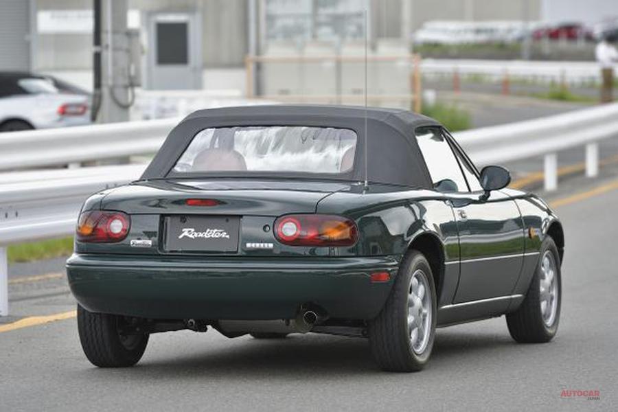 英でも報道 マツダのロードスター公式レストアサービス 1号車が完成