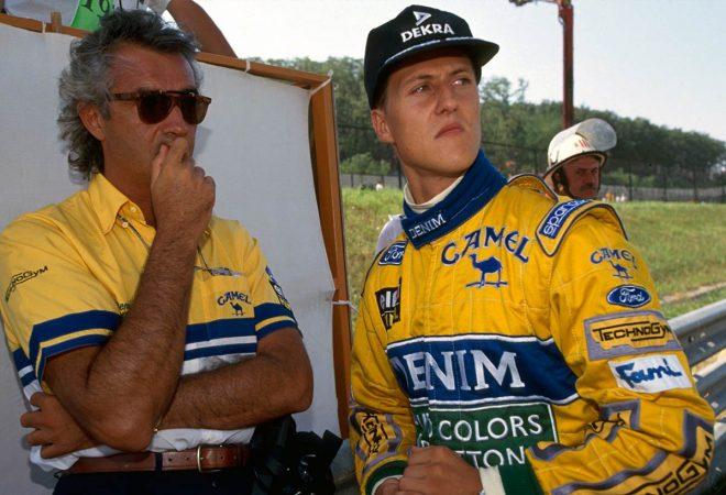 【F1秘蔵映像】かつて若きシューマッハーをマクラーレンにスカウトしていたロン・デニス
