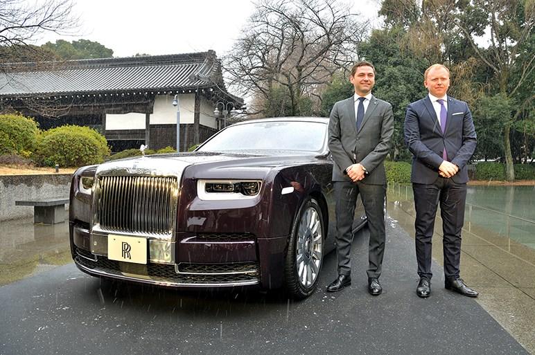 ロールス・ロイス、14年ぶりFMCの最上級サルーン新型ファントムを日本発表