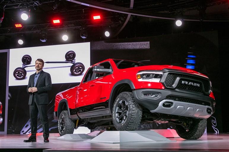 米FCA 、タフな性能を磨き込んだ新型ピックアップトラック ラム1500を発表