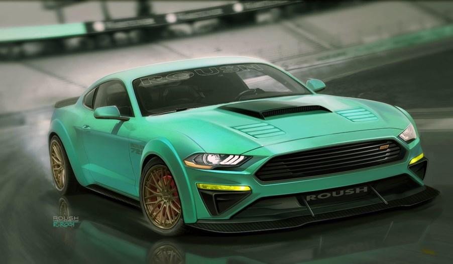 フォード、SEMAショーにマスタングのカスタムカー7モデルを出展