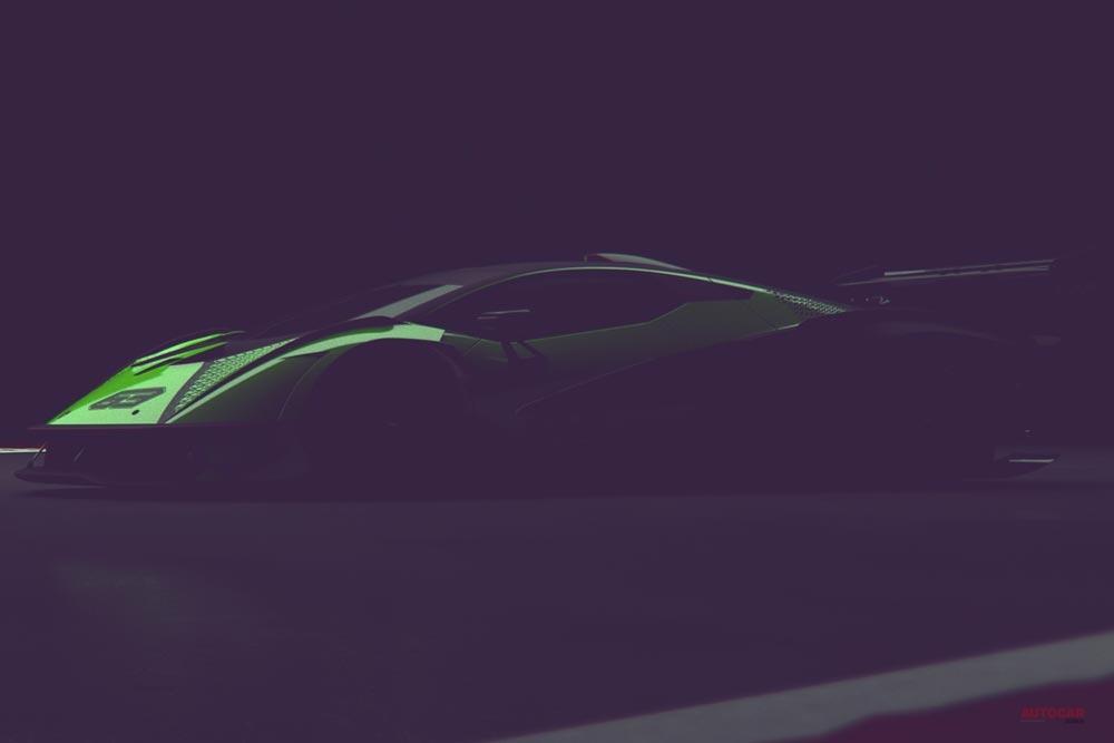 【ランボルギーニが予告】自然吸気V12搭載、サーキット専用の新ハイパーカー 年末に登場