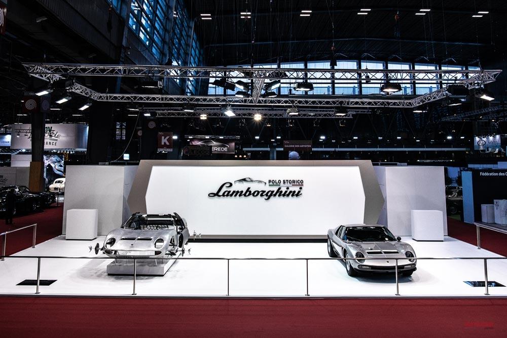【公式レストアは、ここまでやる】ランボルギーニ・ミウラSVJ/P400 Sを披露 レトロモビル