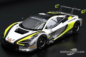 ジェンソン・バトンのGTチーム、使用マシンをホンダNSXからマクラーレン720S GT3に変更