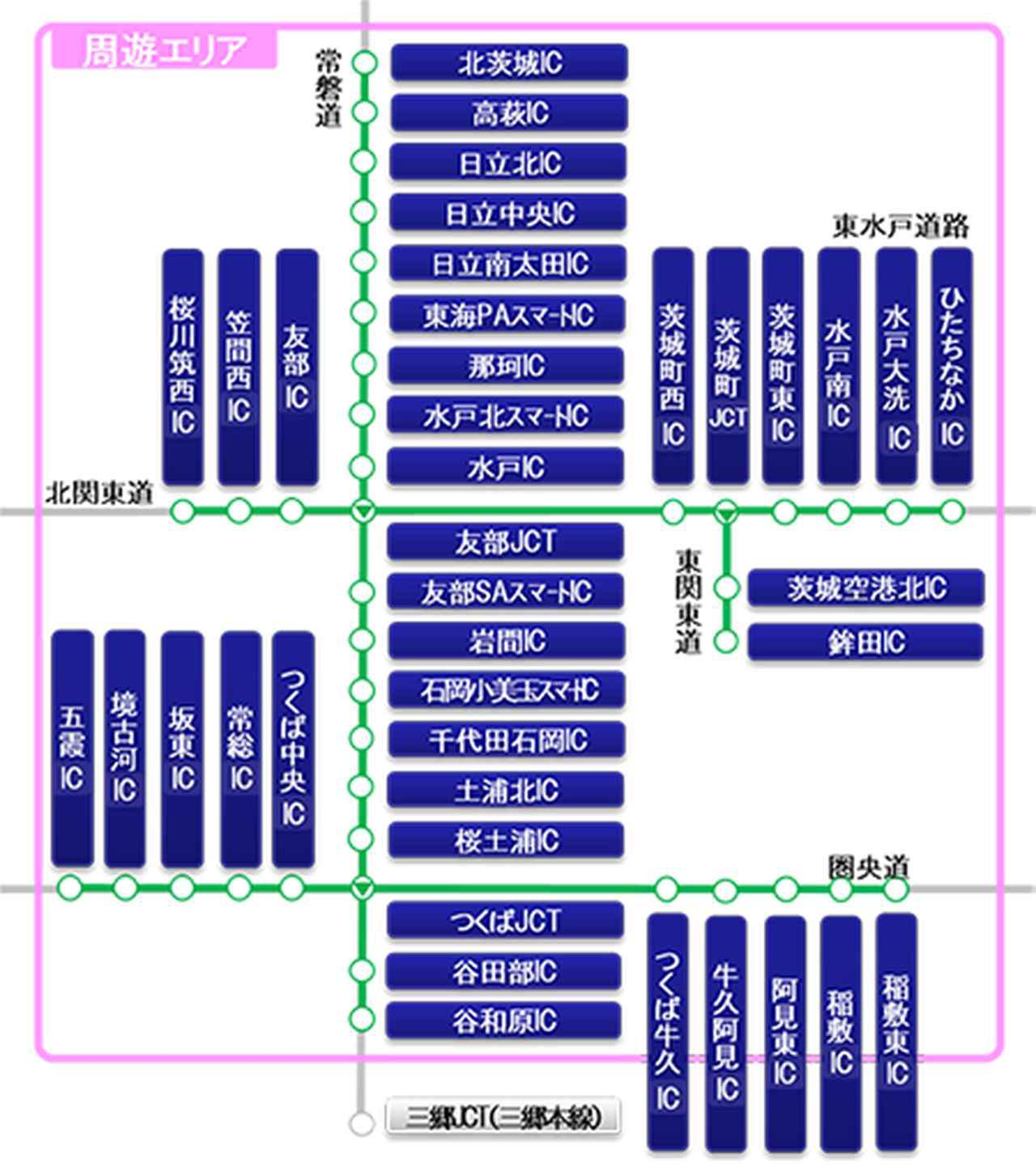 ETCがあれば、茨城県の高速道路を乗り降り自由で3800円! ドラ割「いばらき観光応援フリーパス」の申込受付がスタート