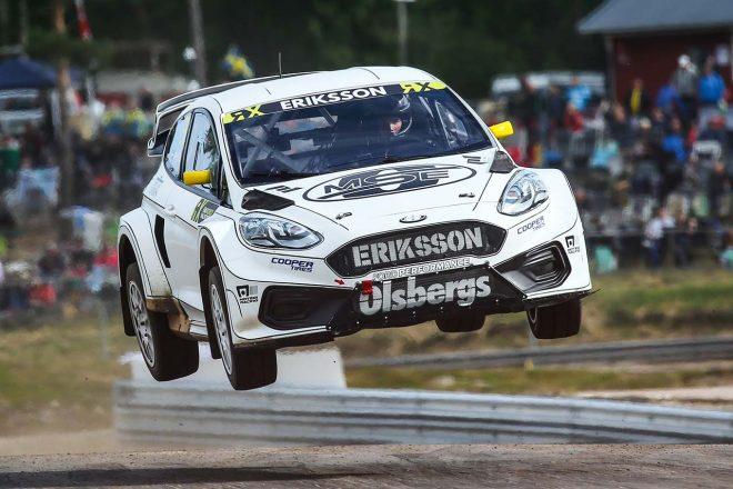 世界ラリークロス第6戦:フォード操るスポット参戦ドライバー、エリクソンがシリーズ初優勝