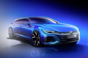 【6/24発表】VWアルテオン・シューティングブレーク/ファストバック アルテオンRも追加へ