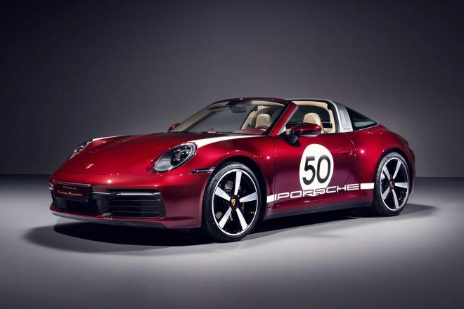 ポルシェ、伝統のデザインを最新モデルに。992台限定『911タルガ4S ヘリテージエディション』発表