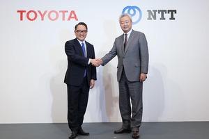 トヨタとNTTが資本提携