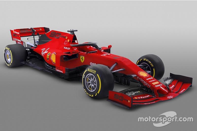 フェラーリ、F1開幕戦仕様カラーリングを公開。『Mission Winnow』の代わりにフェラーリ創設90周年祝う