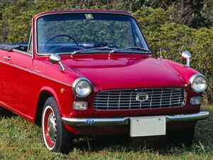 【旧車】60年代の国産スポーツカー (その15)ダイハツ・コンパーノ スパイダー と マツダ・ファミリア クーペ